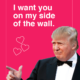 Donald Trump-Valentines-Wall