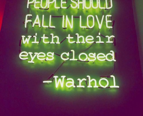 andy warhol-quote-love